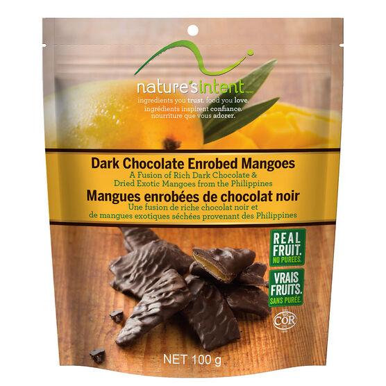 Nature's Intent Dark Chocolate - Mangoes - 100g