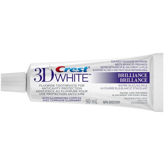 Crest 3D White Toothpaste Brilliance - Mesmerizing Mint - 90ml