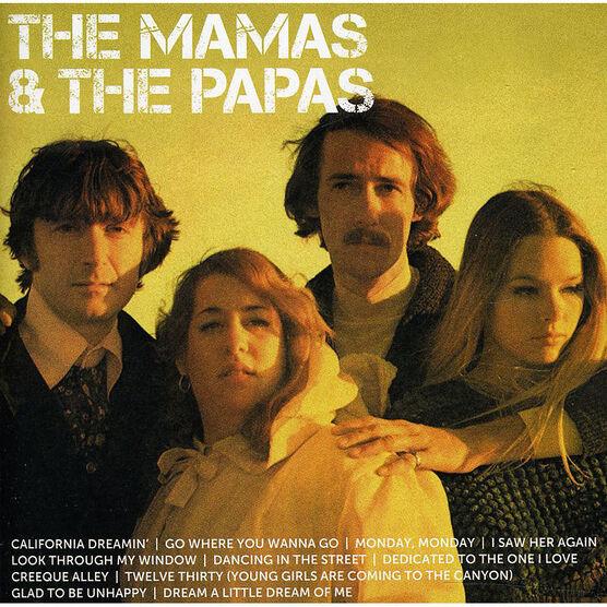 The Mamas & The Papas - ICON - CD