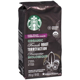 Starbucks Organic French Roast Coffee - Ground - 283g