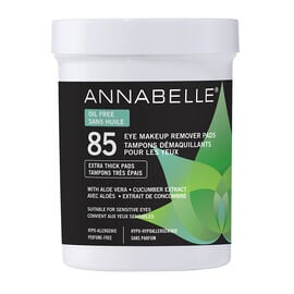 Annabelle Eye Makeup Remover Pads - Oil Free - 85's