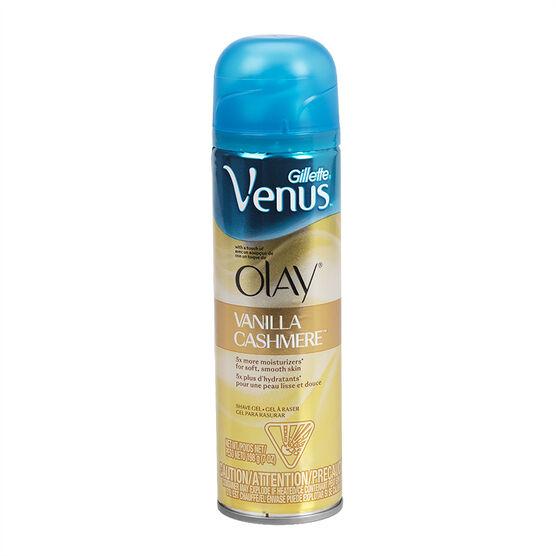 Gillette Venus & Olay Shave Gel - Vanilla Cashmere - 198g