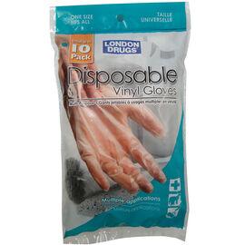 London Drugs Disposable Vinyl Gloves - 10's