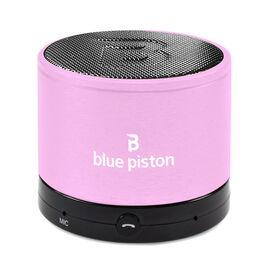 Logiix Blue Piston Wireless Bluetooth Speaker - Baby Pink - LGX12223