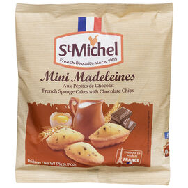 St. Michel Mini Madeleine - Chocolate Chips - 175g