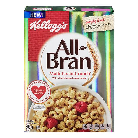 Kellogg's All Bran Multigrain Crunch Cereal - 305g