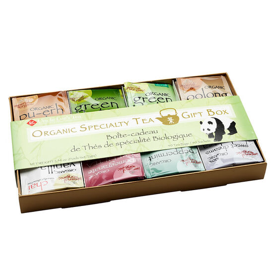Uncle Lee's Organic Specialty Tea Gift Box - 40's