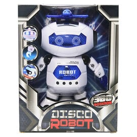 Dancing Disco Robot with 360 Rotation