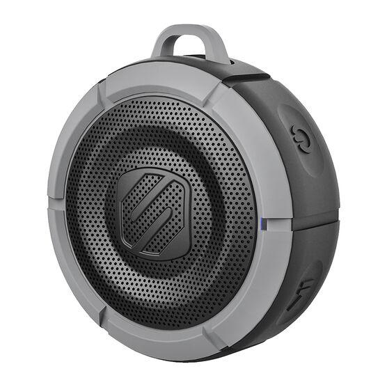 Scosche BoomBuoy Rugged Waterproof Bluetooth Speaker - Black/Grey - SC-BTBB