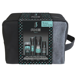 Axe Apollo Gift Set with Case - 4 piece