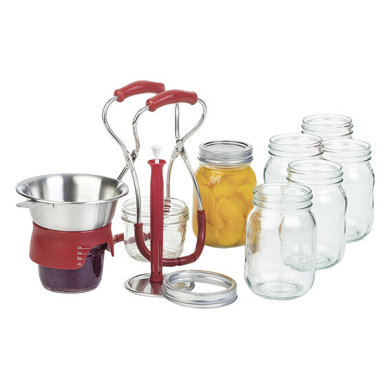 PL8 Canning Kit - Red - 3 piece