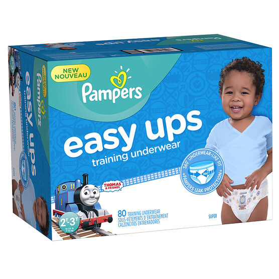 Pampers Easy Ups Training Underwear - 2T/3T - 80ct - Boys