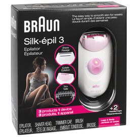 Braun 3270 Silk-epil 3 Epilator - White - 87977