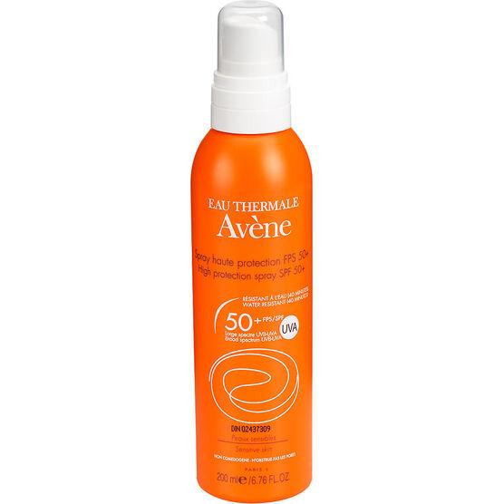 Avene High Protection Spray for Sensitive Skin - SPF50 - 200ml