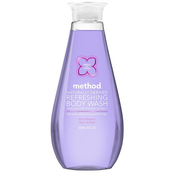 Method Refreshing Body Wash - Lilac Blossom - 532ml