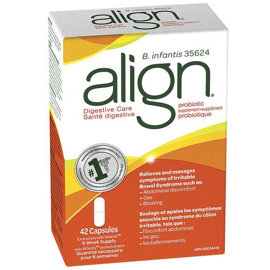 Align Digestive Care Probiotic Supplement - 42's
