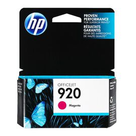 HP 920 Officejet Ink Cartridge - Magenta - CH635AC140