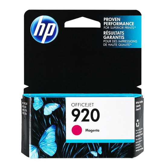 HP 920 Officejet Ink Cartridge - Magenta - CH635AC140