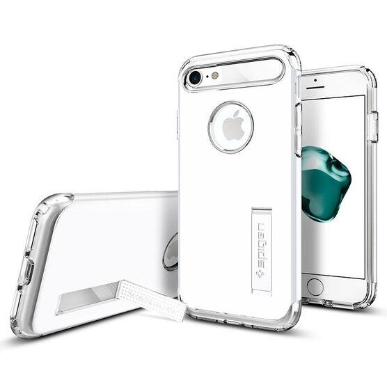 Spigen Slim Armor Case for iPhone 7 - Jet White - SGP042CS21048