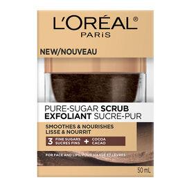 L'Oreal Pure-Sugar Scrub - Smooths & Nourishes - 50ml