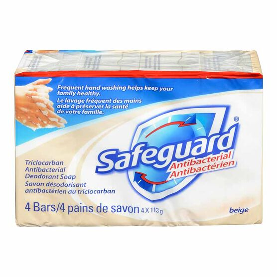Safeguard Bar Soap - 4 x 113g