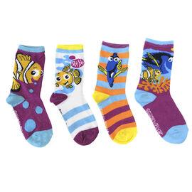Girls Sport Socks - 4 pack