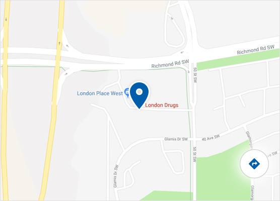 London Sw Map.London Drugs Store At 5255 Richmond Road Sw Calgary Ab