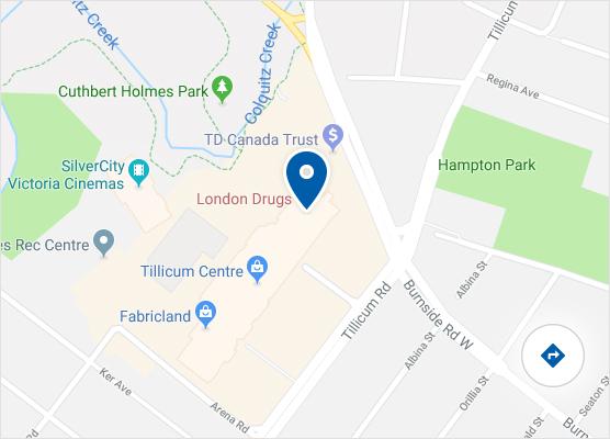 Victoria London Map.London Drugs Store At 3170 Tillicum Road Victoria Bc