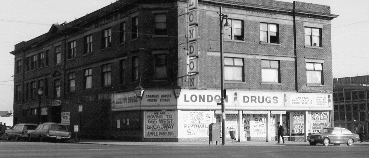 London Drugs - 1945