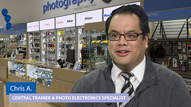 Chris - Central Trainer & Photo Electronics Specialist