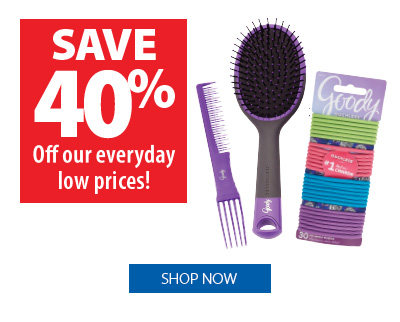 Save 40% off Goody Products