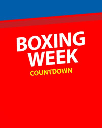 Boxing Week 2018