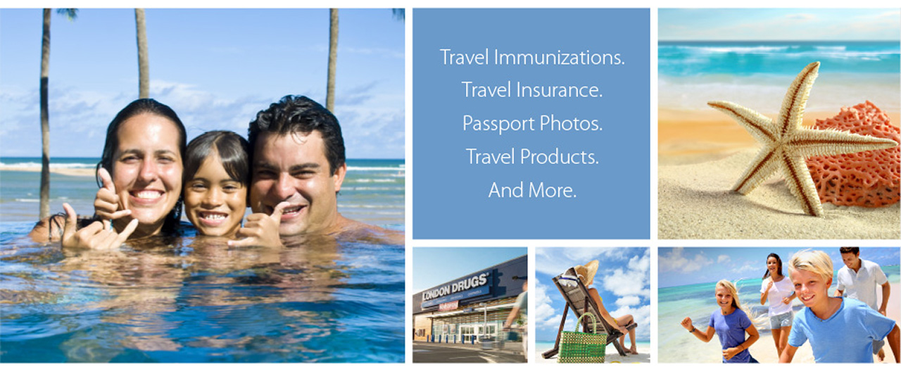 Travel Immunizations, Travel Insurance, Passport Photos, Travel Products, and more.