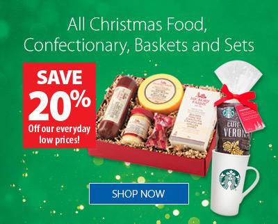 Christmas Food/Confectionary/Baskets/Sets