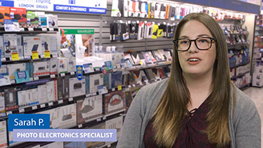 Sarah - Photo Electronics Specialist