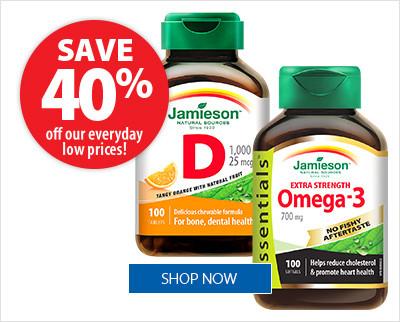 Jamieson Vitamins & Supplements