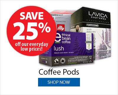 Coffee Pods - Save 25%