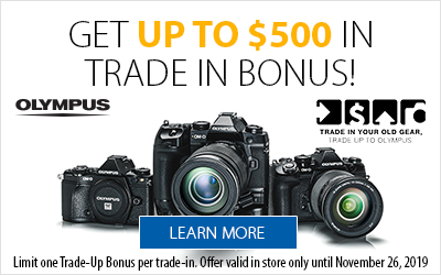Trade up to Olympus
