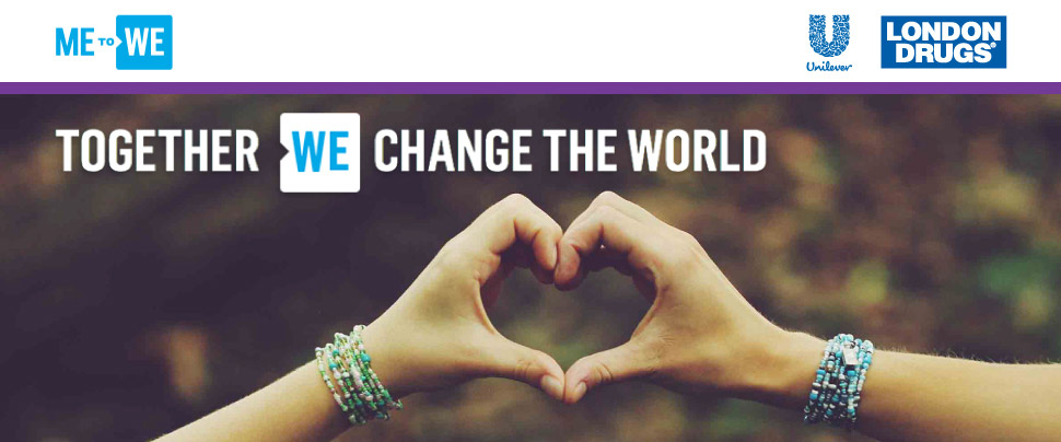 ME to We. Together We Change the World