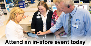 Attend an in-store event today!