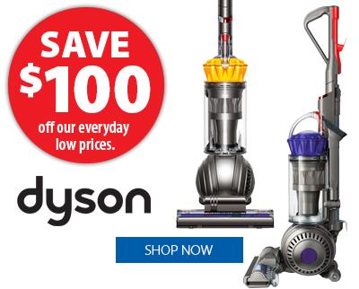 Dyson Vacuums - Save $100