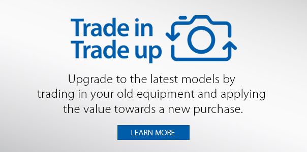 Trade in. Trade up.