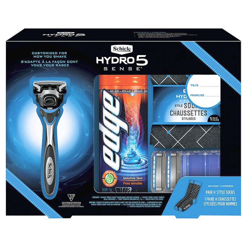 Schick Hydro 5 Sense Holiday Box