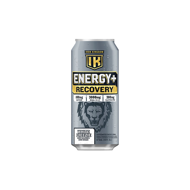 Iron Kingdom Energy+Recovery Drink - White Freezie - 473ml