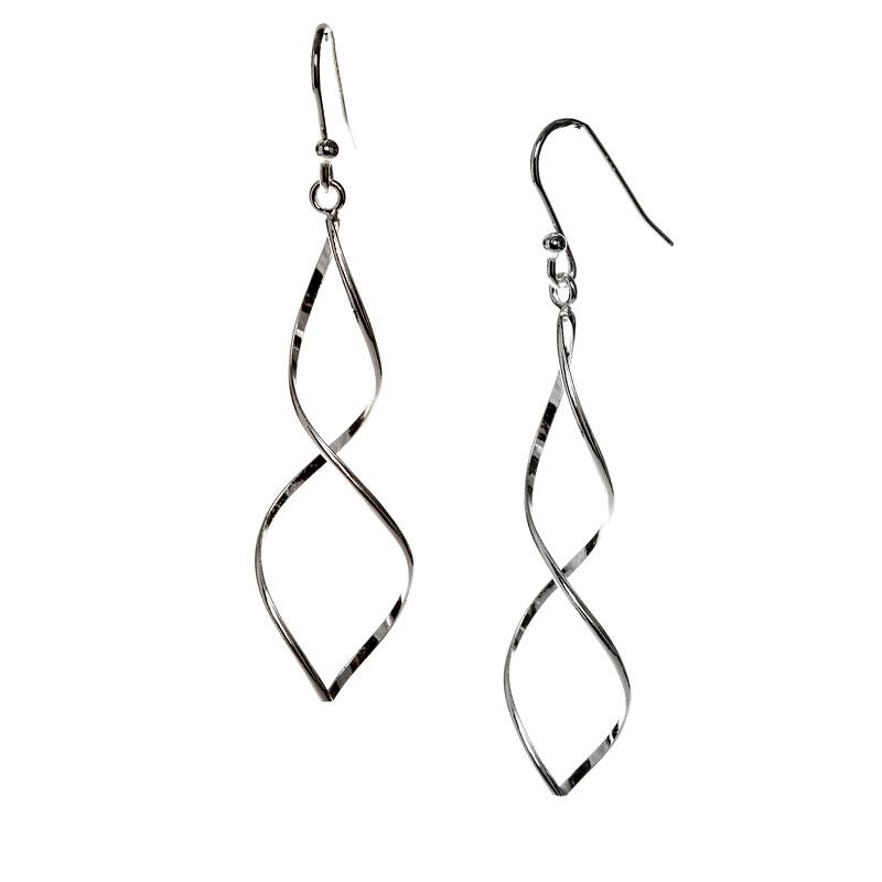 84c030153 Charisma Sterling Silver Twist Drop Earrings   London Drugs