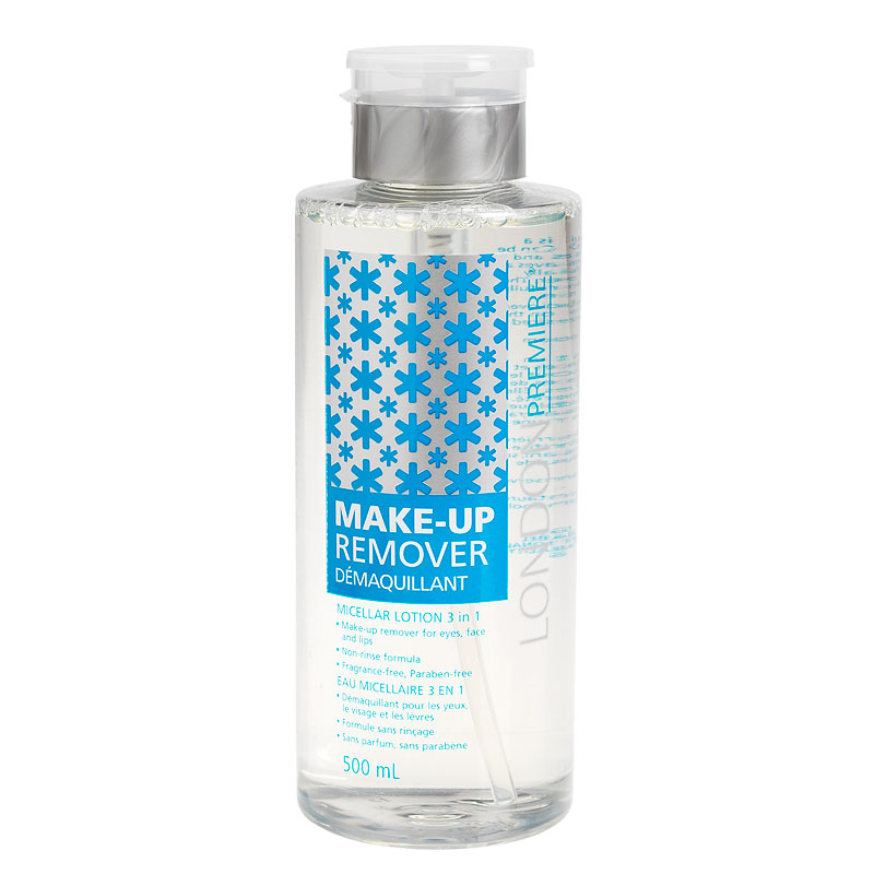 London Premiere 3-in-1 Makeup Remover  - 500ml