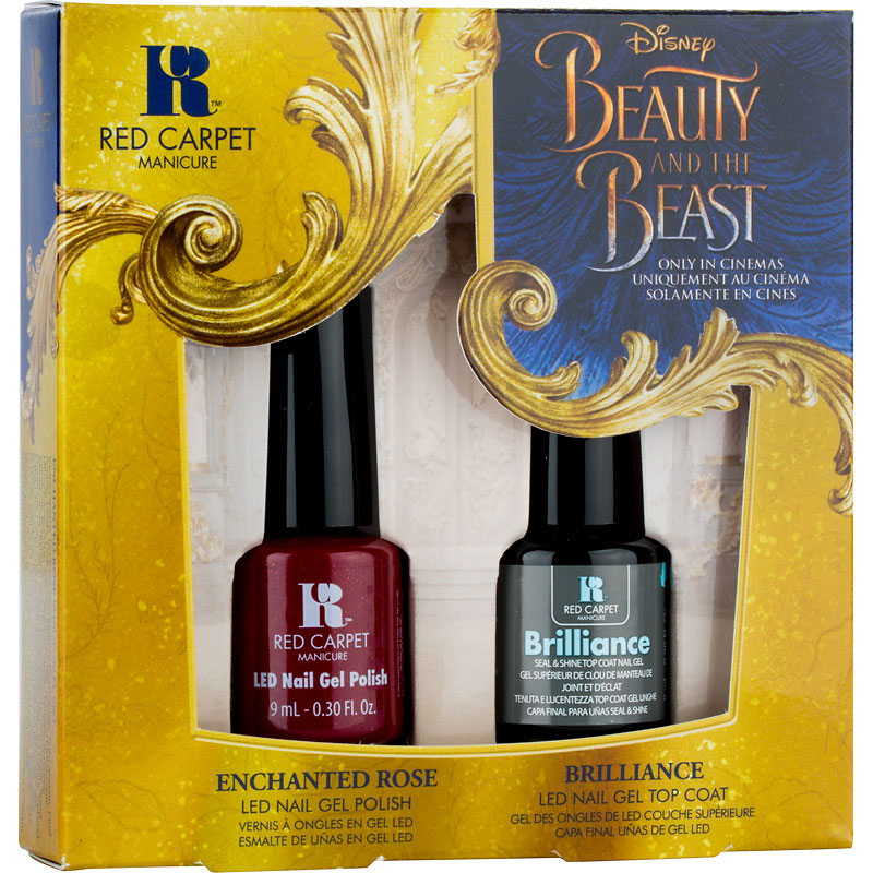Red Carpet Manicure Beauty and the Beast Duo