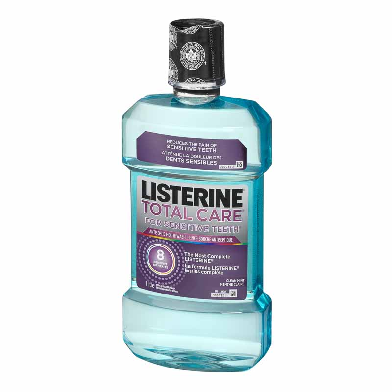 Listerine Total Care for Sensitive Teeth - Clean Mint - 1L