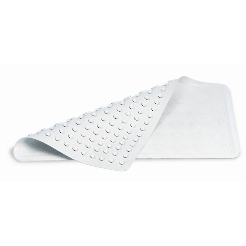 Rubbermaid Safti-Grip Bathtub Mat - 28 x 16 inch - FG7043MABRNST