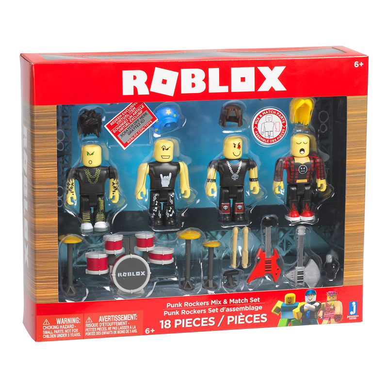 Roblox Figures - 4 pack - Assorted
